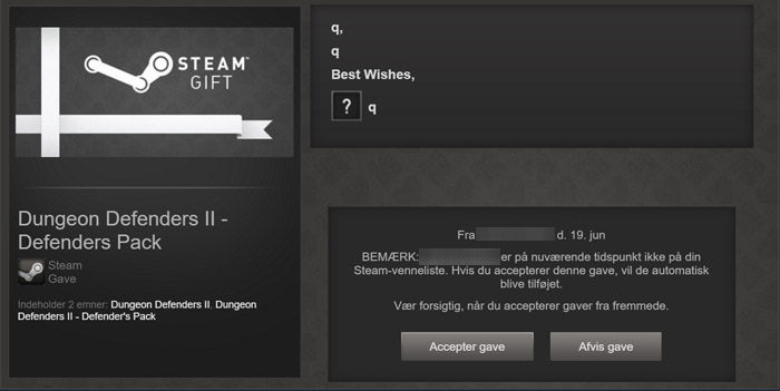 Hvordan indløser jeg mit Steam Gift-spil?